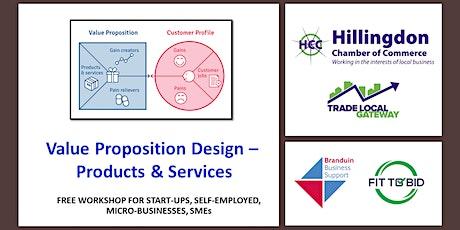 Hillingdon | Value Proposition Design - Products & Services tickets