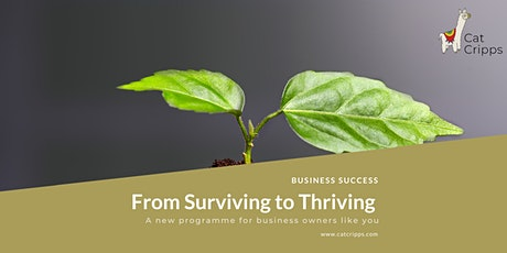 From Surviving to Thriving - Your Customer Journey tickets