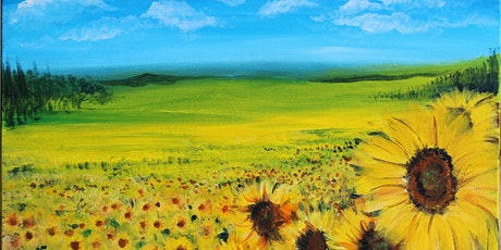 Chill & Paint Friday Night  Auck City Hotel  - Sunflower Field! tickets