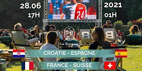 Euro 2021  - 1/8 de finale @La Terrasse du Manoir billets