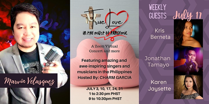 TRUE LOVE In The Midst Of Pandemic  Online PRAISE AND WORSHIP CONCERT image