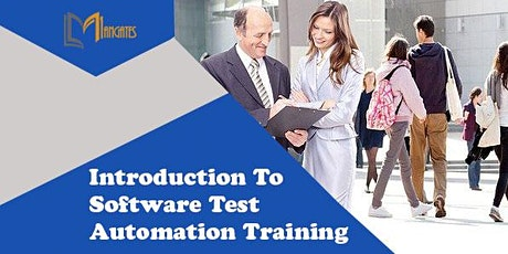 Introduction To Software Test Automation Virtual Training in Reading tickets