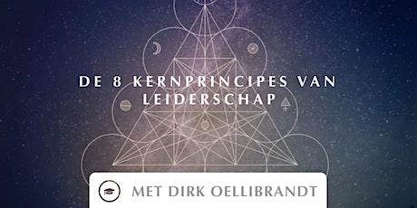 Online Training - De 8 kernprincipes van leiderschap tickets