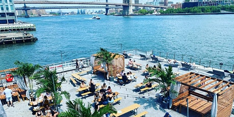 """SATURDAYS: """"BRUNCH & SUNSETS """" ON THE WATER @ WATERMARK - PIER 15 NYC tickets"""