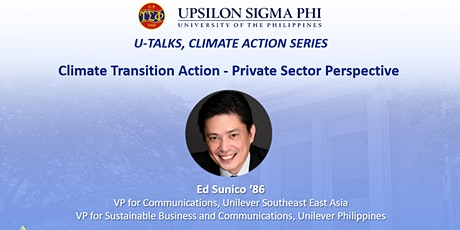 Climate Transition Action - Private Sector Perspective tickets