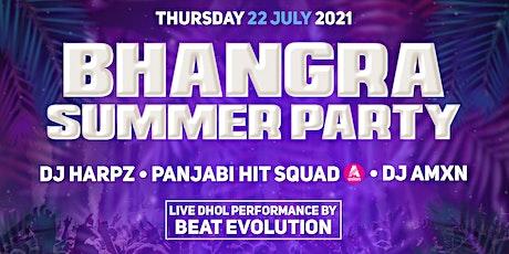 BHANGRA SUMMER PARTY 2021 AT REVOLUTION LEADENHALL tickets