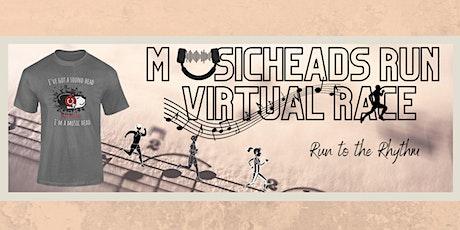 Musicheads Run Virtual Race tickets
