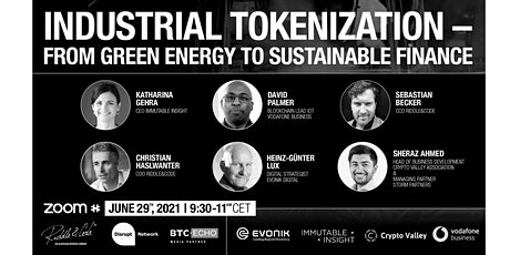 Industrial Tokenization – From Green Energy to Sustainable Finance tickets