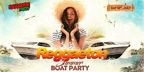 Reggaeton Summer Boat Party 2021 tickets
