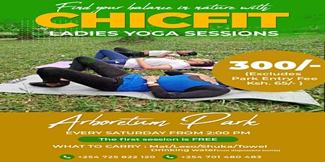 Yoga by Chicfit tickets