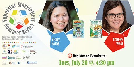Superstar Storytellers Summer Series: Tracey West & Vicky Fang tickets
