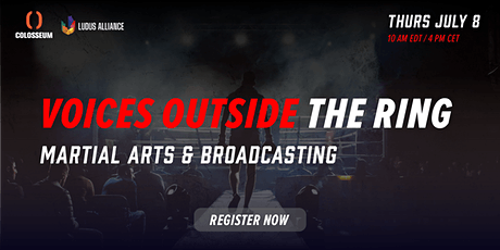 Voices Outside the Ring: Martial Arts & Broadcasting tickets