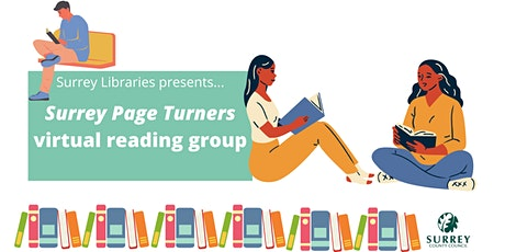 Surrey Page Turners - Surrey Libraries Online Reading Group tickets