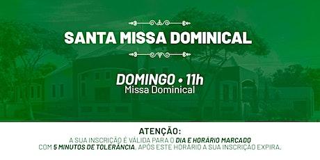 Santa Missa Dominical - Domingo   27 de Junho 11h ingressos