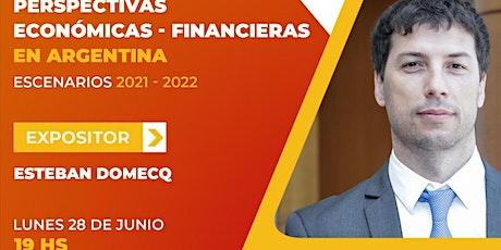 Perspectivas económicas y financieras Argentina 2021-2022. entradas