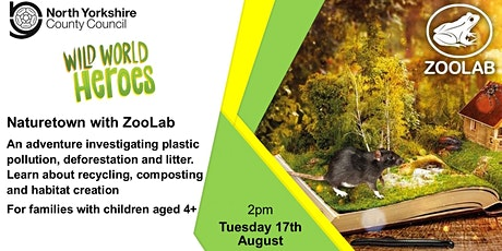 Naturetown with ZooLab tickets
