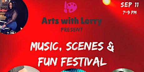 MUSIC, SCENE &FUN BOOK SIGNING EVENT FESTIVAL tickets