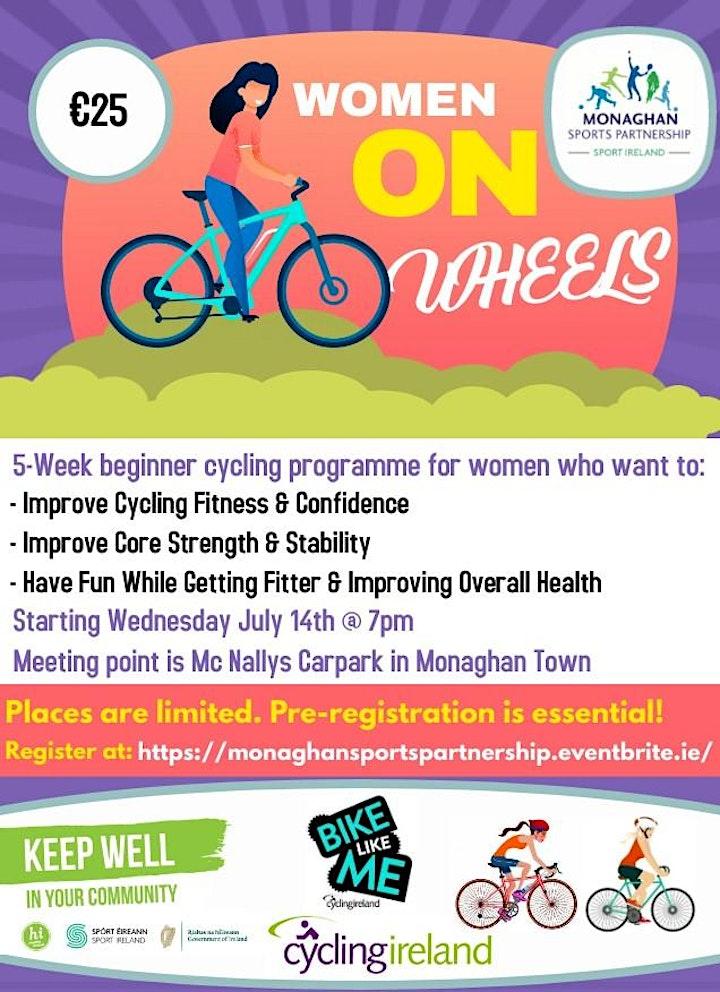 Women On Wheels Cycling Programme image