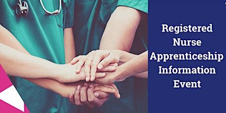 Registered Nurse Degree Apprenticeship Information Event tickets