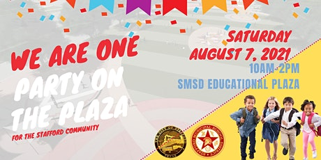 Stafford We Are One: Community Party on the Plaza tickets