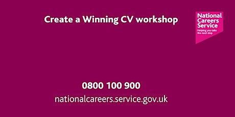 Create a Winning CV Workshop - North East and Cumbria tickets