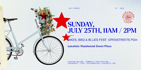 Bikes, BBQ & Blues Fest at OpenStreetsPGH tickets