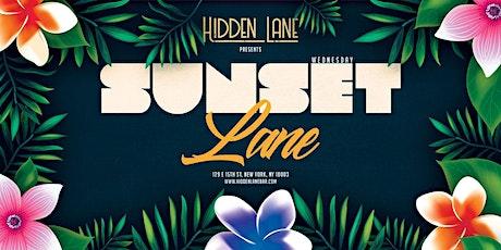 Sunset Lane at Hidden Lane Wednesday 6/30 tickets