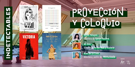 Proyección Serie INDETECTABLES + Charla Coloquio entradas