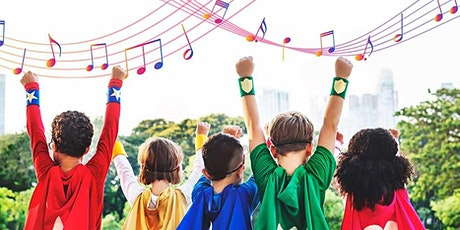 A fun, interactive music workshop for children for children aged 5-14 years tickets