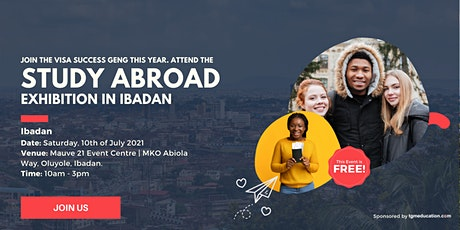 Don't Miss The Study Abroad Exhibition This March In Ibadan tickets