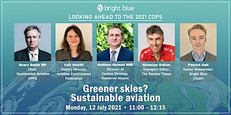 Greener skies? Sustainable aviation tickets