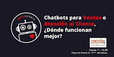 Chatbots para Ventas o Atención al Cliente , ¿Dónde funcionan mejor? entradas