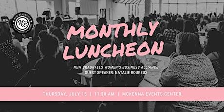 Women's Business Alliance Luncheon - July tickets