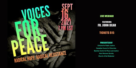 Voices for Peace 2021 - Radical Hope, Radical Resistance Event #3 tickets