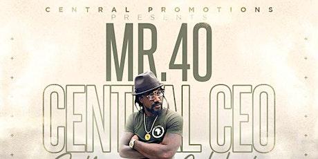 MR 40'S BIRTHDAY CELEBRATION tickets
