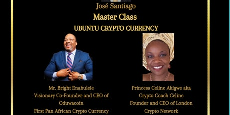Ubuntu Wealth Creation  - Crypto Currency (Master Class) tickets