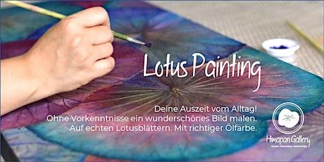 Lotus Painting - Entspannt malen im offenen Atelier Tickets