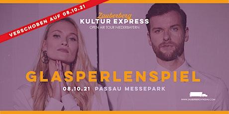 Glasperlenspiel  • Passau • Zauberberg Kultur Express Abschluss Open Air Tickets