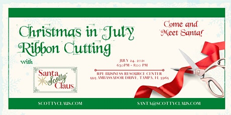 Cafecito with Rosie Networking: Christmas in July & RPEBRC Ribbon Cutting tickets