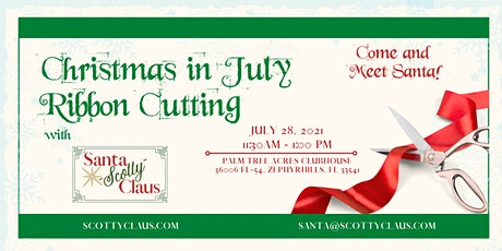 Cafecito with Rosie Networking Event: Christmas in July & Ribbon Cutting tickets