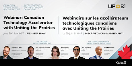 Canadian Technology Accelerator Webinar – with Uniting the Prairies tickets