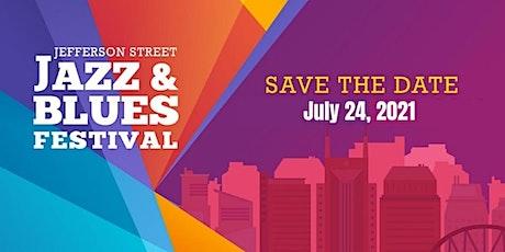 Jefferson Street Jazz & Blues Festival 2021 tickets