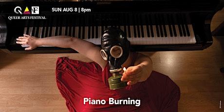 Piano Burning @ QAF 2021 tickets