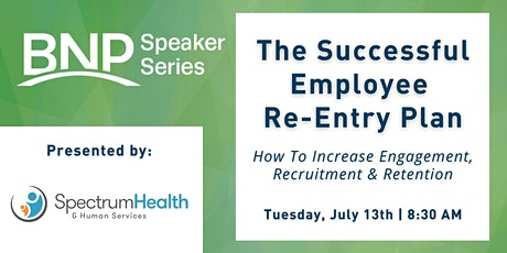 Speaker Series: The Successful Employee Re-Entry Plan tickets