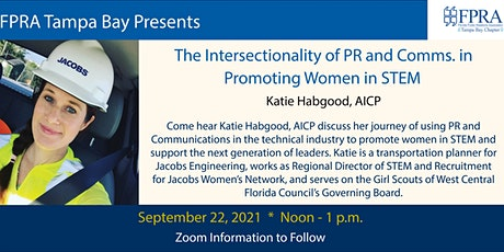 The Intersectionality of PR and Communications in Promoting Women in STEM tickets