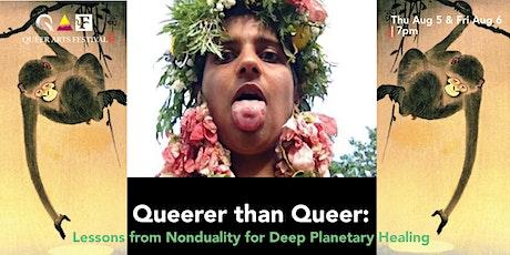 Workshop: Queerer than Queer @ QAF 2021 tickets