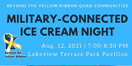 Military-Connected Ice Cream Night tickets