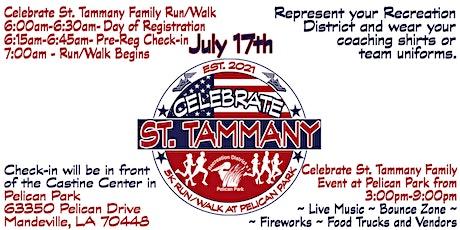 Celebrate St Tammany 5K Run / Walk tickets
