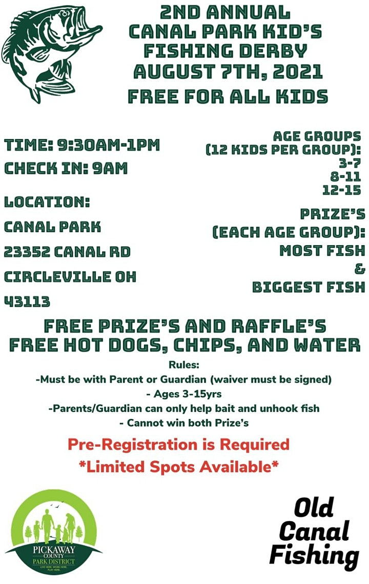 2nd Annual Canal Park Kid's Fishing Derby image