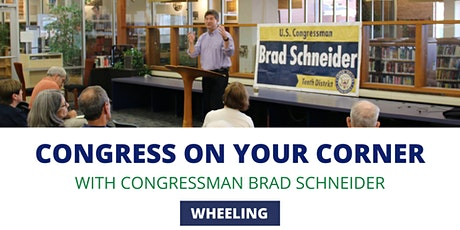 Congress On Your Corner: Wheeling tickets
